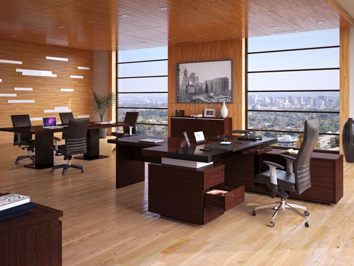 Дизайн рабочего кабинета руководителя
